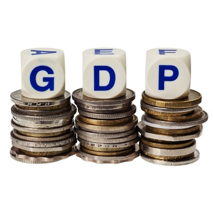 GDP Stack of Coins