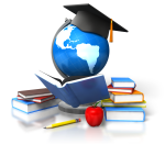 education-books-graduand-apple-globe